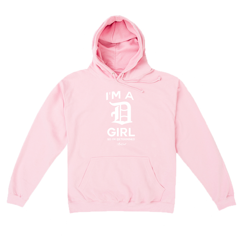 I'M A D Girl Pink Hoodie