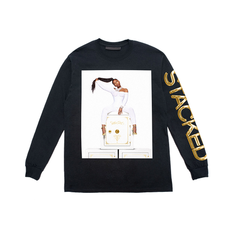 Stacked Black Long Sleeve + Digital Album