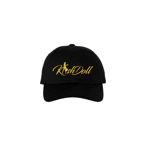 BLACK KASH DOLL LOGO HAT