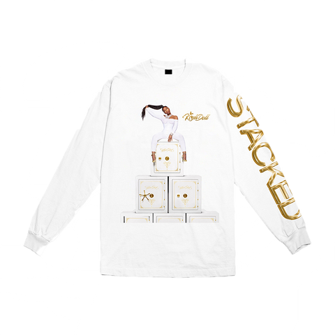 Stacked White Long Sleeve + Digital Album