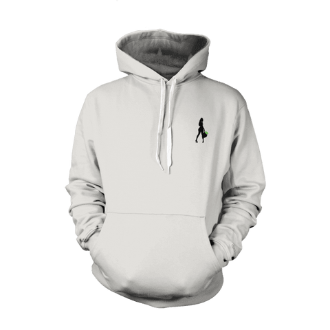 SILHOUETTE LOGO PULLOVER HOODIE