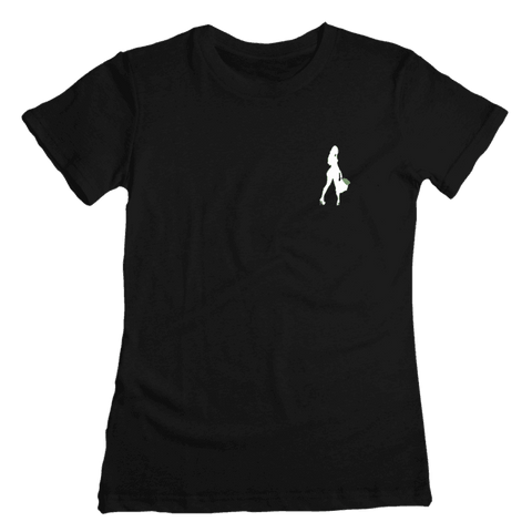 Silhouette Logo Ladies T-Shirt