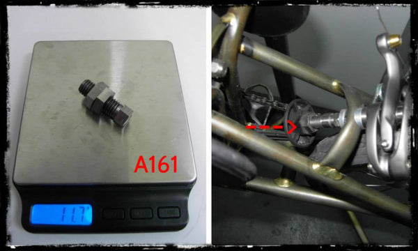 Ti Parts Ti Stop Disk Bolt and Nuts
