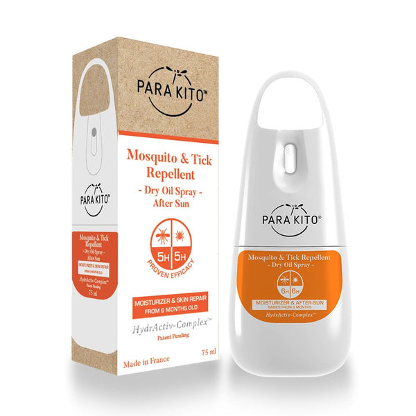 Para'kito Dry Oil Spray Mosquito & Tick Repellent - Moisturizer