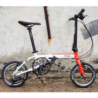 "Fnhon Retro 16"" 3 Speed Folding Bike"