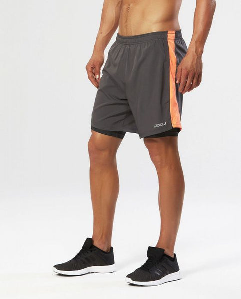 "2XU Momentum 7"" 2In1 Icex Short"