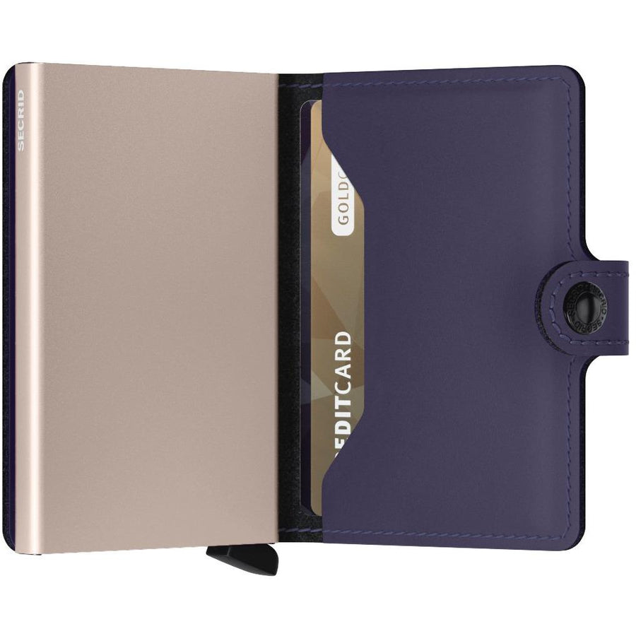 Secrid Miniwallet Matte, Purple Rose