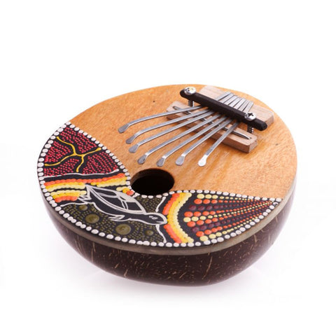 Karimba. Kalimba. Thumbs Harp. Aboriginal Percussion Musical Instrument. Thumb Paino. FairTrade - Ethnic-Tara