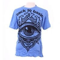 Third Eye Cotton Psychedelic 100% Soft Cotton, Short Sleeves Festival Tees, Summer Wear T-Shirt - Ethnic-Tara