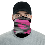 American Adventure Mask - Pink Camouflage