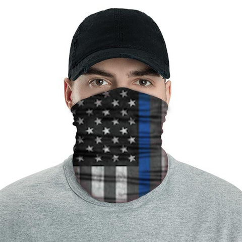 American Adventure Mask - Blue Pride Stripe