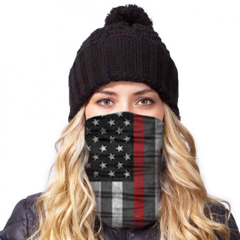 American Adventure Mask - Red Pride Stripe