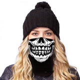 American Adventure Mask - Rock 'n' Roll Skull