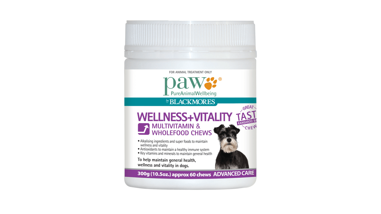 Blackmores Supplements PAW Wellness + Vitality Chews 300g