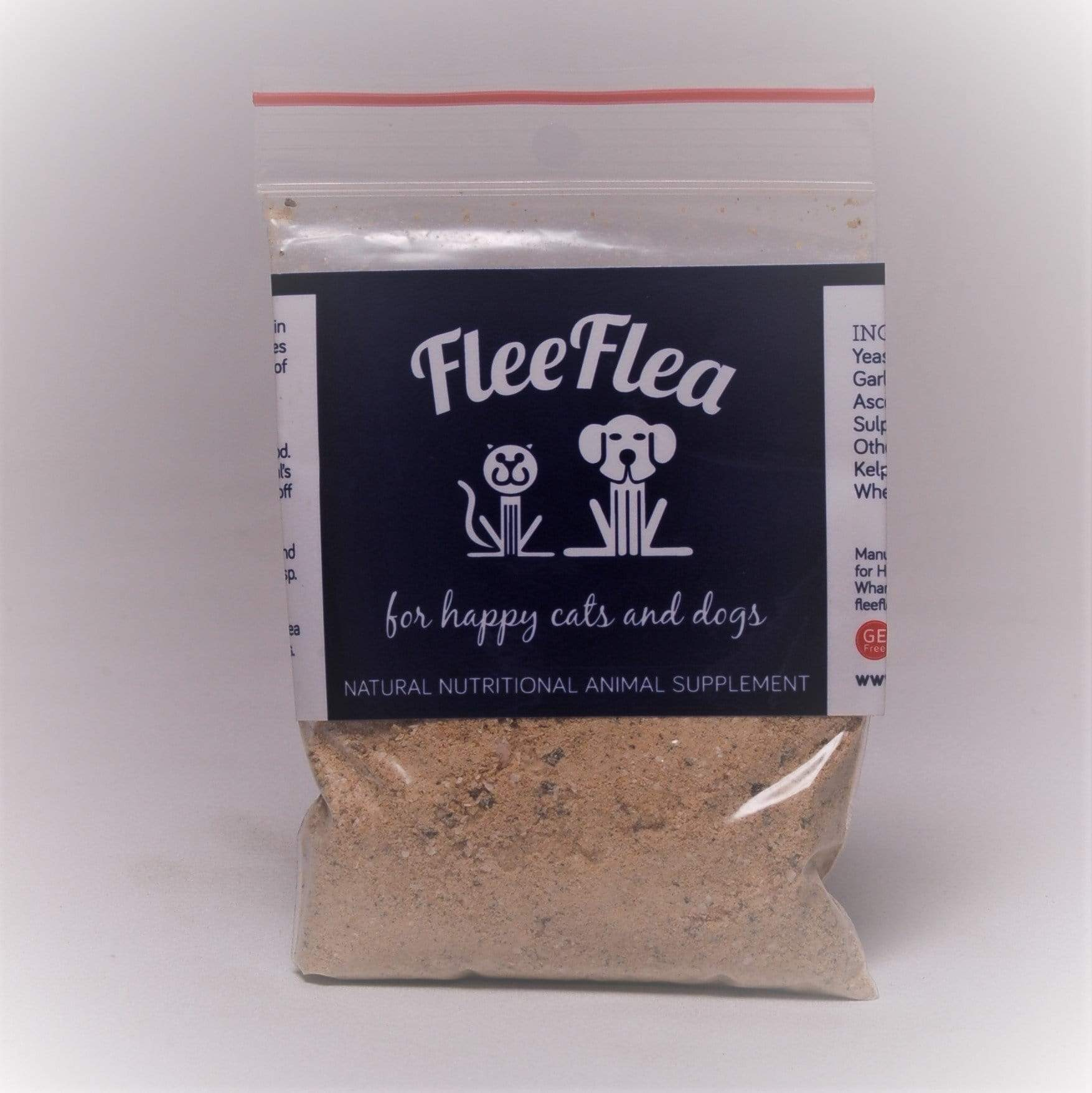 Flee Flea Supplements Flee flea sample bag 56g