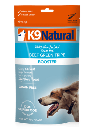 K9 Natural Freeze Dried 250g K9 Natural Freeze Dried Beef Green Tripe Booster