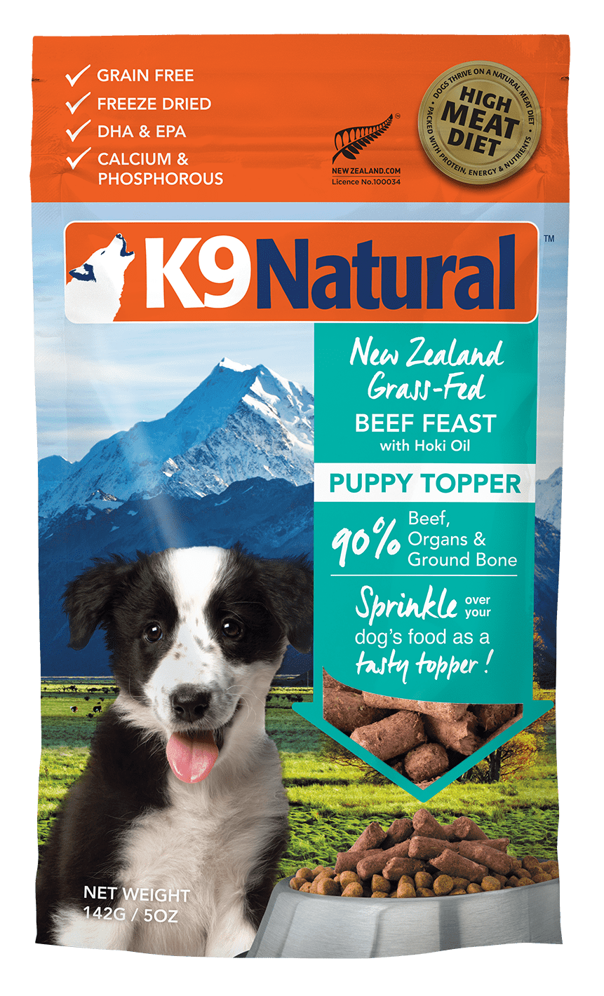K9 Natural Freeze Dried 142g K9 Natural Freeze Dried Beef Puppy Feast