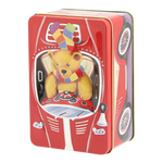 Load image into Gallery viewer, Teddy in Car Gift Tin