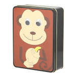 Load image into Gallery viewer, Googly Eye Monkey Tin