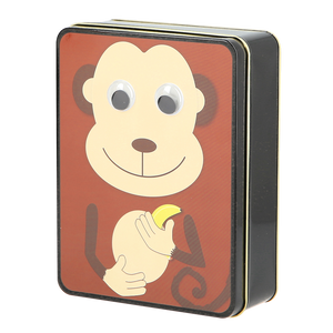 Googly Eye Monkey Tin