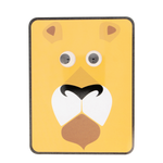 Load image into Gallery viewer, Googly Eye Lion Tin