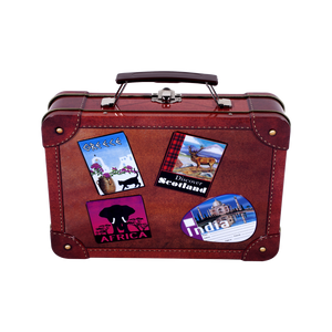 Travel Suitcase Tin