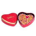 Load image into Gallery viewer, Heart Cookie Cake in Tin