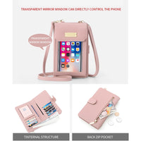Women's Multi-functional Touch Phone Messenger Bag - Creative Dreamscape