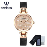 CADISEN Fashion Women's Watch Lady Wrist Watches Luxury Casual Female Quartz Watch Relogio Feminino Relojes Mujer Drop Shipping - Creative Dreamscape