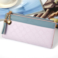 New Women Wallets Long Multi-card Position Button Bag Hand Zipper Phone Bag Womens Wallets and Purses Luxury Wallet Female - Creative Dreamscape