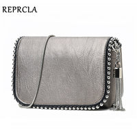 REPRCLA New Brand Women Shoulder Bag Small Crossbody Messenger Bags Chain Luxury Handbag Ladies Purse with Tassel - Creative Dreamscape