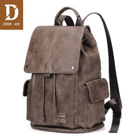 DIDE Anti theft Backpack Men Laptop Backpacks For Teenager women Male Preppy Style School Bag Cover Travel Backpack Leather - Creative Dreamscape
