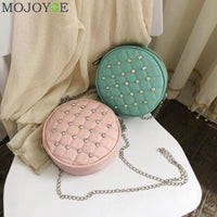 Chic Round Handbags for Women - Creative Dreamscape