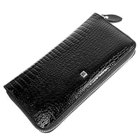 HH Genuine Leather Women Wallets Luxury Brand High Quality Fashion Girls Purse Card Holder 2019 New Design Long Wristlet Clutch - Creative Dreamscape