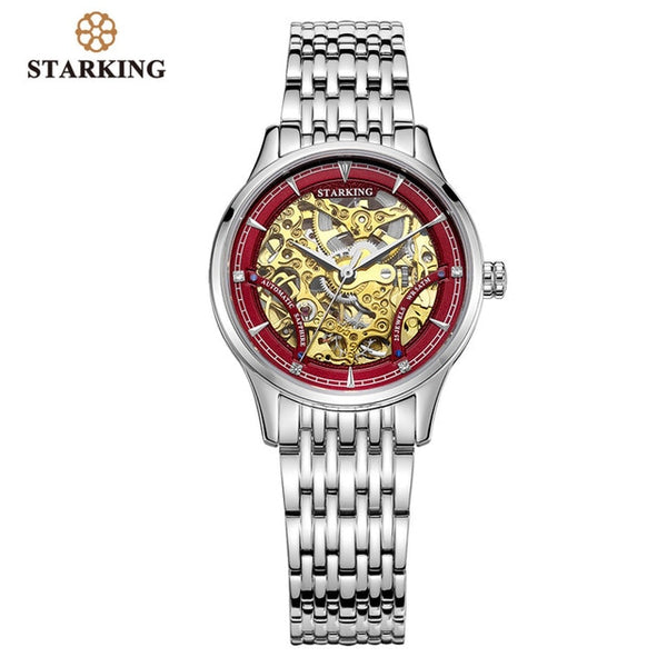 STARKING Watch Women Brand Luxury Automatic Ladies Watch Mechanical Gold Skeleton Female Watch Relogios Wrist Watch Ladies Gift - Creative Dreamscape
