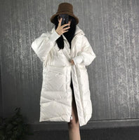 90% White Duck Down Jacket Women 2019 Warm Thick Long Winter Coat Women Female Puffer Jacket Waterproof Snow Outwear - Creative Dreamscape
