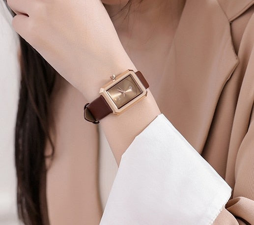 Small Dial Green Rectangle Women Watches Fashion Women Bracelet Quartz Watch Ladies Casual WatchWatch Drop Shipping zegarek dams - Creative Dreamscape