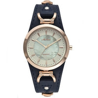 2019 MELISSA Women Watches Luxury Miyota Quartz Waterproof Vintage wrist Watches Relogio Feminino Leather Sapphire Shell dial - Creative Dreamscape