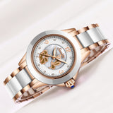 Gift SUNKTA Rose Gold Watches Women Fashion Watch Luxury Brand Quartz Wristwatch Ladies Bracelet Women's Watches For Women Clock - Creative Dreamscape