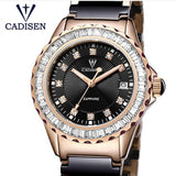 Relojes Mujer 2019 CADISEN top brand fashion Women's watches ceramic bracelet quartz girl Sport watches casual Clock Lady Watch - Creative Dreamscape