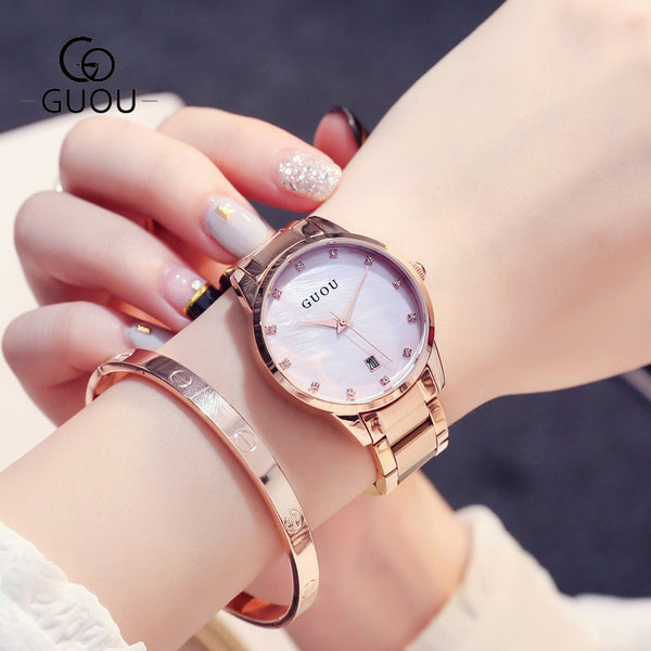 Fashion Alloy Belt Women Watches Unisex women's watch Minimalist Style Quartz Watch relogio feminino saat Watches for women 2019 - Creative Dreamscape