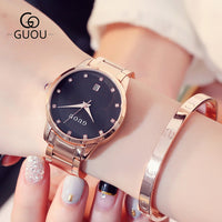 Luxury Diamond Women Watch Fashion Casual Quartz Watches Lady Waterproof Wristwatch Stainless Steel Girl Clock Relogio Feminino - Creative Dreamscape