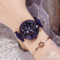 2019 New Elegant Purple Women Watches Quartz Watch Ladies Top Brand Luxury Female Watch Girl Clock Relogio Feminino Gift Box - Creative Dreamscape