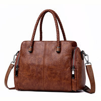 Casual Tote Bag Leather Luxury Handbags Women Bags Designer Handbags High Quality ladies Crossbody Hand Bags For Women 2019 Sac - Creative Dreamscape