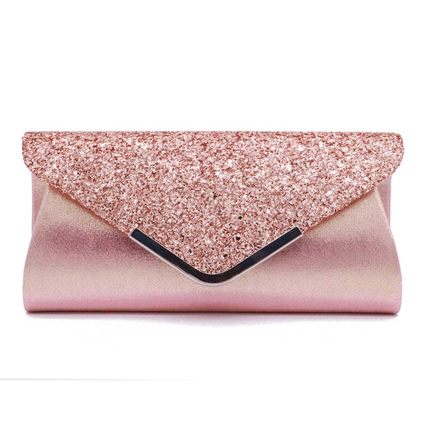 Women Lady Stylish Handbags Glitter Envelope Clutch Purse Evening Party Bag Gift Small Bags For Women Evening Bag Luxury Bag - Creative Dreamscape