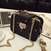 2019 Spring New Fashion Women Shoulder Bag Chain Strap Flap Designer Handbags Clutch Bag Ladies Messenger Bags With Metal Buckle - Creative Dreamscape