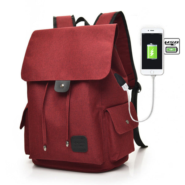 For Teenage Students Girls School Backpack Bag Printing Female Backpacks Travel Bagpack Hot USB Charging Laptop Backpack - Creative Dreamscape