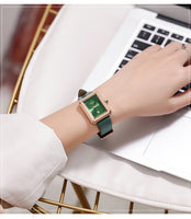 New Small Dial Rectangle Women Watches Fashion Women Bracelet Watch Ladies Casual Quartz WatchWatch 2019 montre femme reloj muje - Creative Dreamscape
