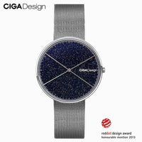 CIGA DESIGN CIGA Quartz Watch Star Watch Womens Simple Fashion Ladies Watch Wins Red Dot Design Award X series - Creative Dreamscape