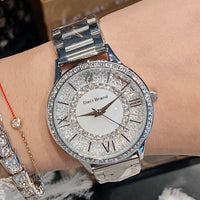 Women's Wrist Watch 2019 Luxury Brand Contena Ladies Quartz Watch Full Stainless Steel Female Clock Wristwatches reloj mujer New - Creative Dreamscape